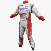 Racing Driver Clothes Toyota 2