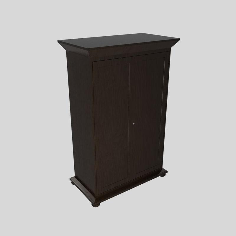 wardrobe empire 3d model