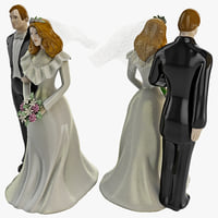 max wedding cake topper