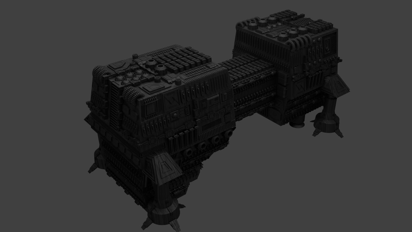 3d model of world devastator