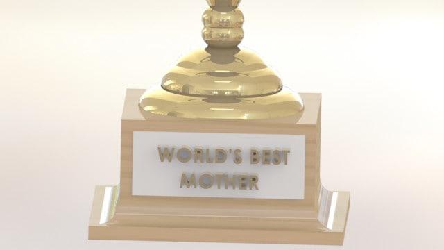 world s award 3d model