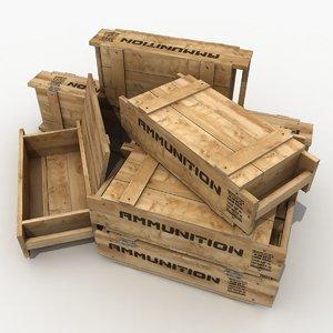 maps ammunition 3d model