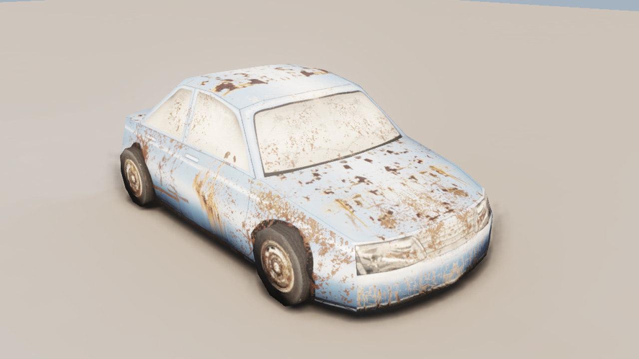 3d zombie model