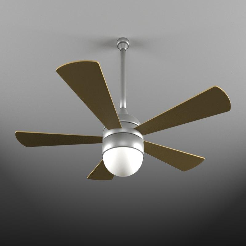 3d obj ceiling fan