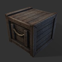 Crate 01 (Game ready)
