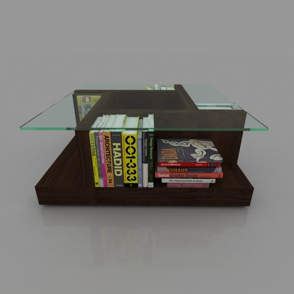 table books 3d max
