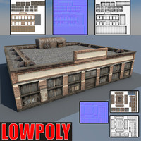 lowpoly Old Factory2
