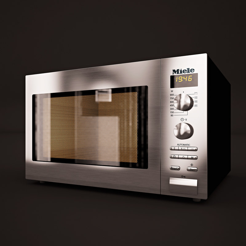 3d max microwave miele m8201-1s