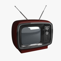 3ds max retro tv