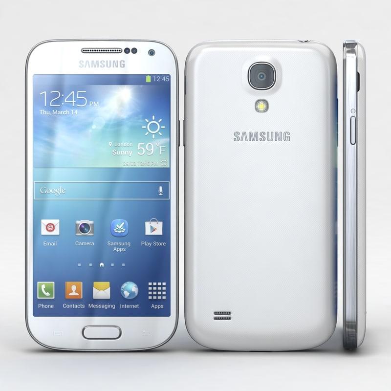 3d model samsung galaxy i9190 i9192