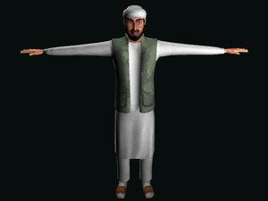 3d taliban soldier model