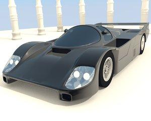 3d model porsche 956 962