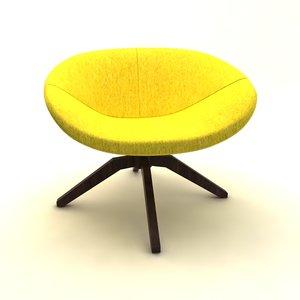 3d mart armchair model