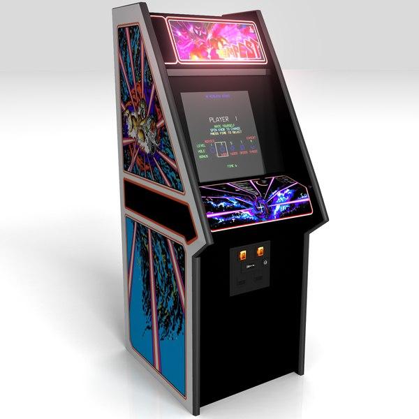 arcade tempest 3d model