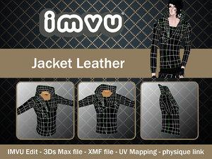 3d model jacket imvu file