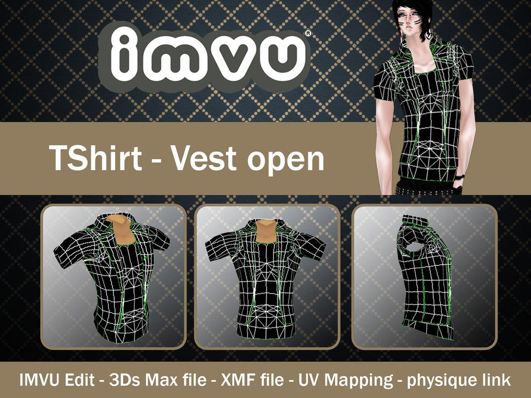 3d model of imvu open