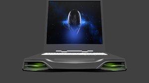 3d alienware 18x