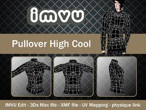 pullover imvu file 3d model
