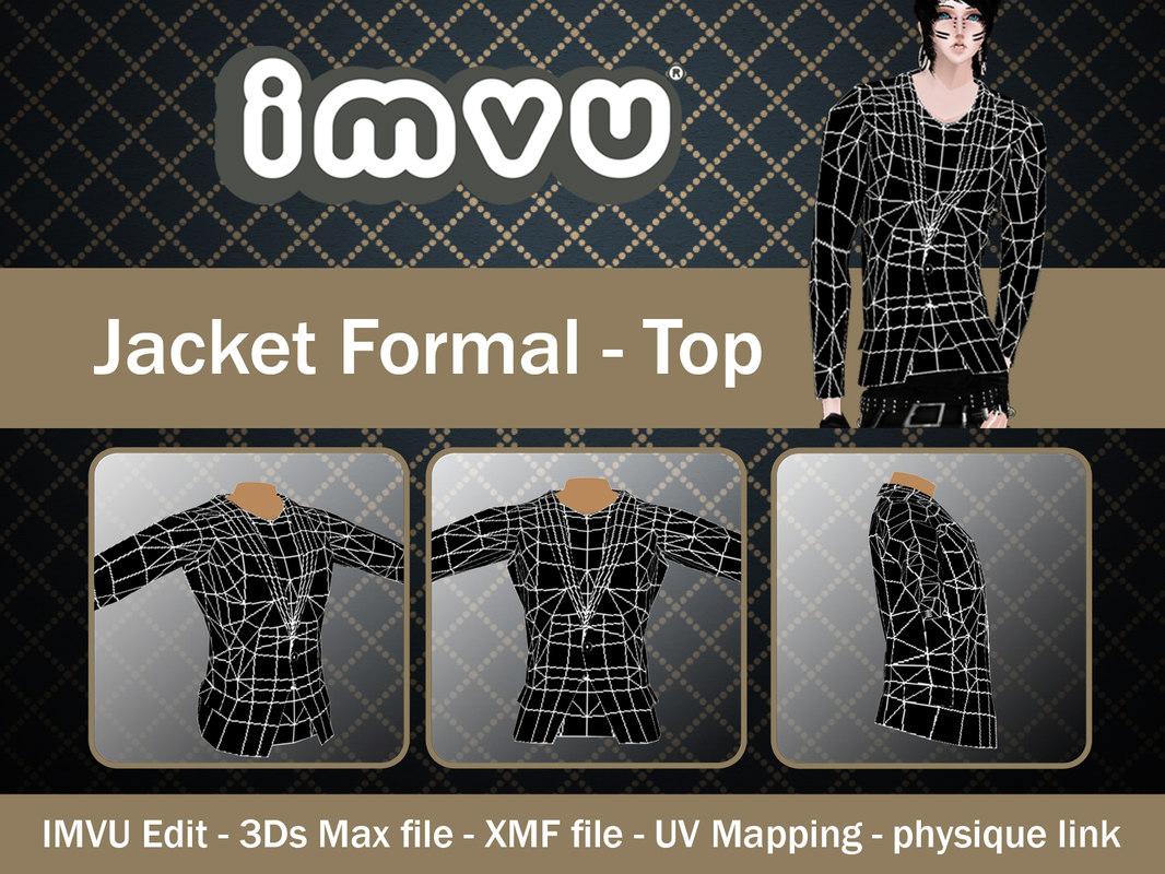 jacket imvu file 3d 3ds