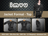 jacket imvu file 3d 3ds