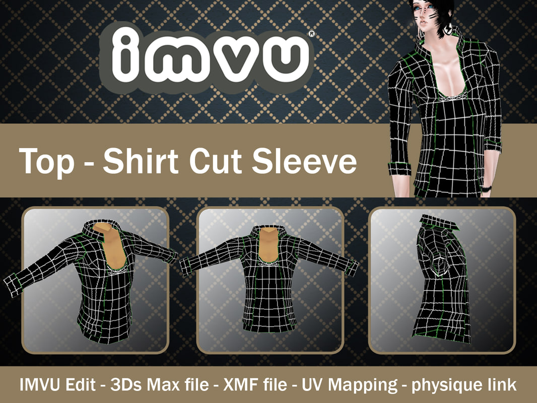 Top - Shirt Cut Sleeve