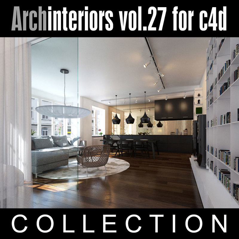 archinteriors vol 27 interior scenes 3d model