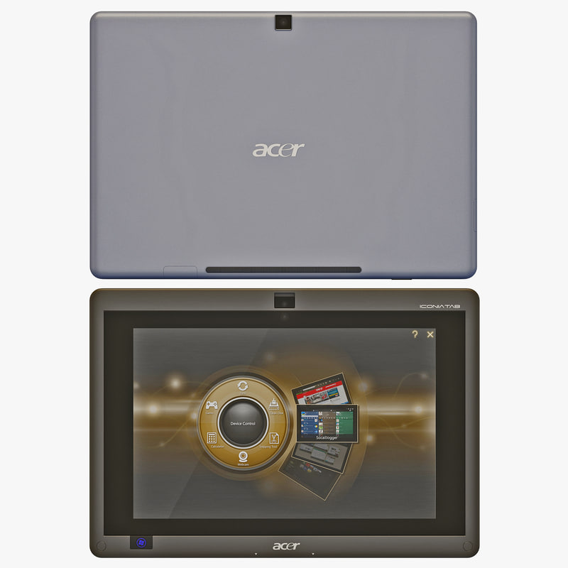 3ds max acer iconia tab w