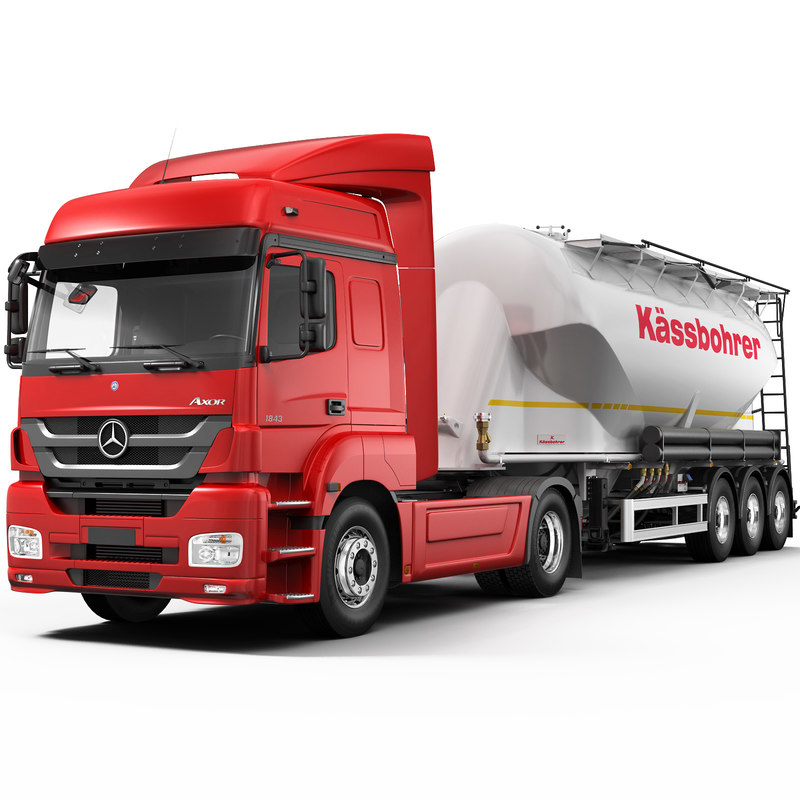 axor cement trailer