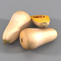butternut squash 3ds