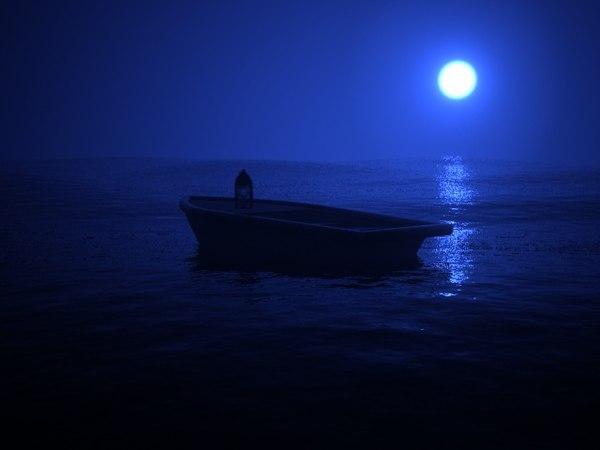 3d model sea boat
