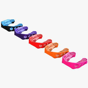 3d model carbon flex mouthguard