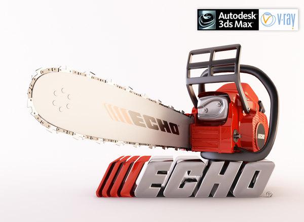 3d model echo chain saw