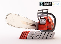3d model echo chain saw