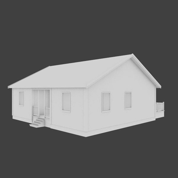 home exterior interior 3d model