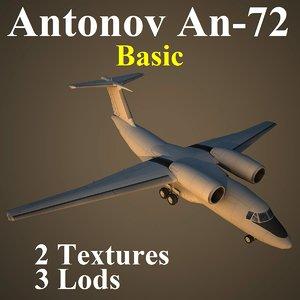 antonov basic 3d model