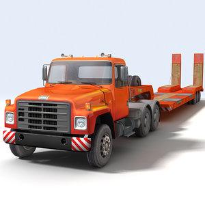 3d truck loader