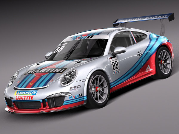 3d model 2012 2013 porsche 911