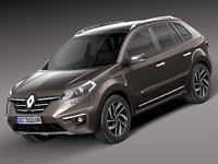 2013 2014 suv renault 3d max