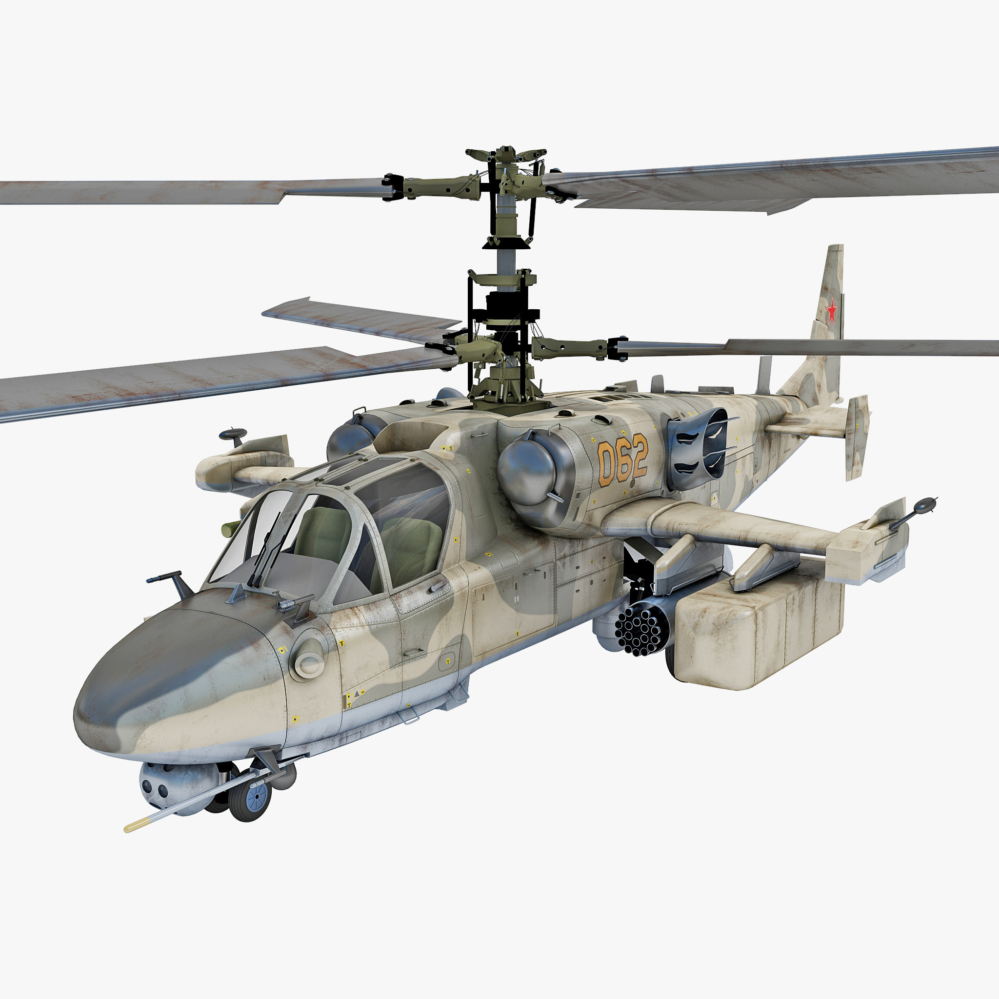 russian attack helicopter kamov 3ds