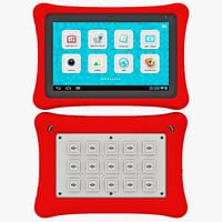 tablet fuhu nabi nabi2 3d model