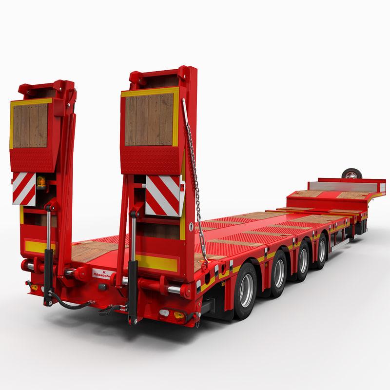 3d platform trailer