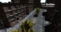 3d street set