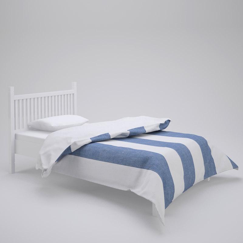 3d model duvet soft furnishings