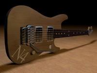 3d washburn n2 guitar