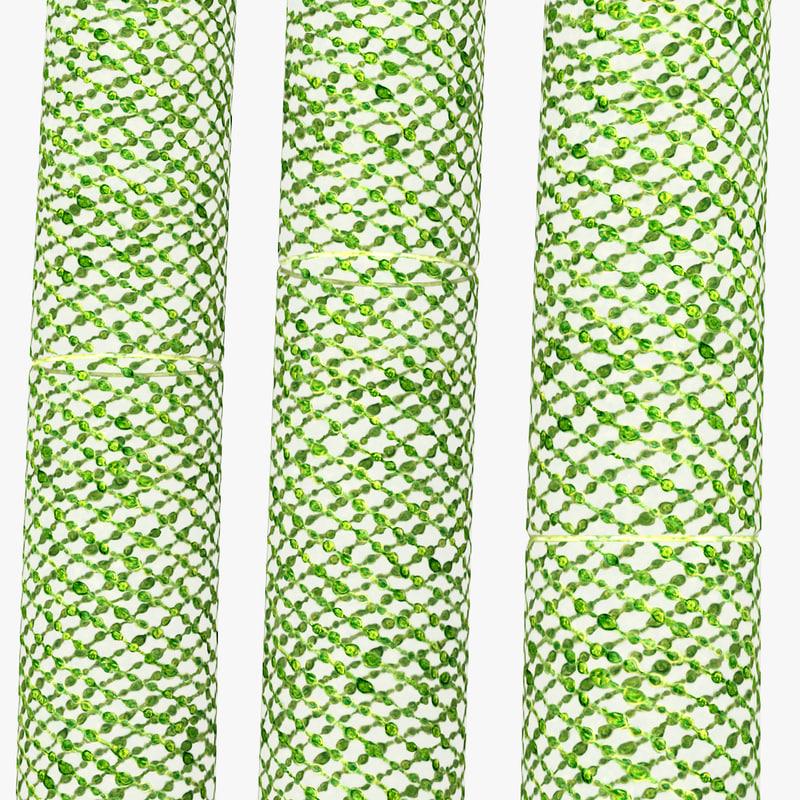 unicellular green alga 3d model