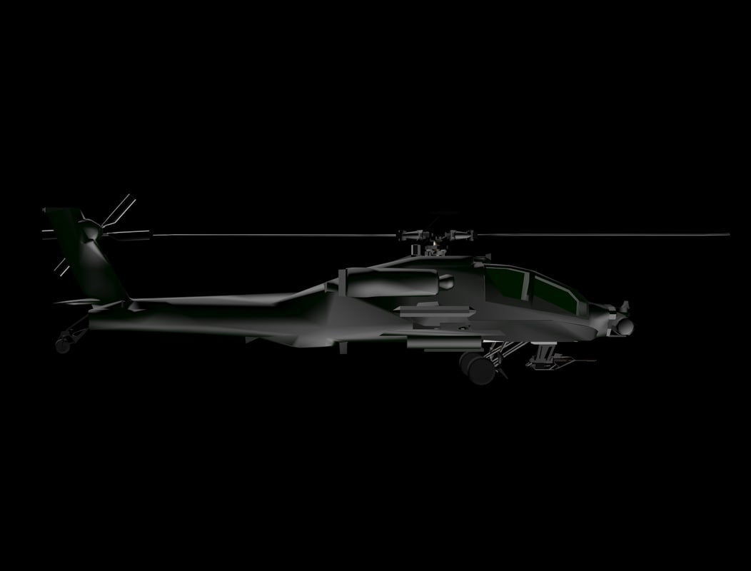 3ds awesome helicopter apache