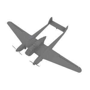 focke-wulf 189 3d max