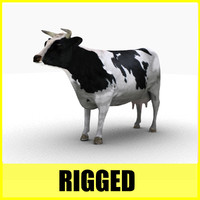 Cow (Rigged)