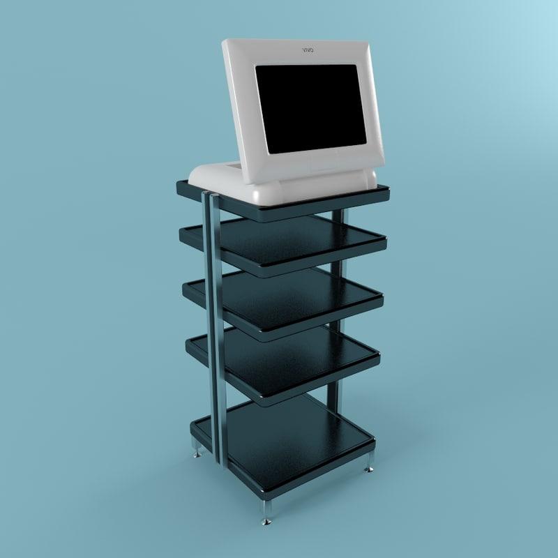 3d model rack