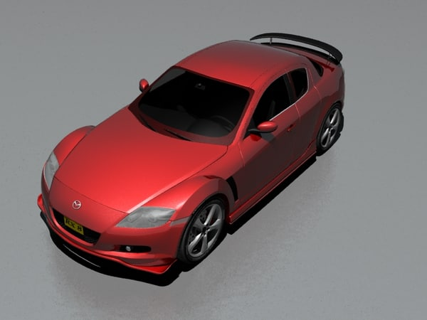 3d model best japanese cars